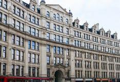 伦敦,英国,城市建筑学-神鹰议院 免版税库存图片