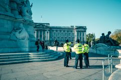 05/11/2017伦敦,英国,大城市警察 免版税图库摄影