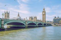 伦敦,英国, 2017年,街道视图 库存照片