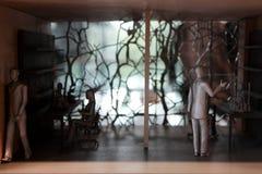 伦敦,英国- 2017年9月:养育建筑师` s演播室开放对公众在营业日期间 免版税图库摄影
