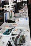 伦敦,英国- 2017年9月:养育建筑师` s演播室开放对日间公众 库存照片