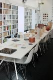 伦敦,英国- 2017年9月:养育建筑师` s演播室开放对日间公众 免版税库存图片
