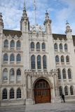 伦敦,英国- 2017年10月30日, :-市政厅 库存照片