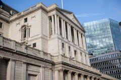 伦敦,英国- 2017年10月30日, :- Englan银行  免版税图库摄影