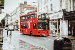 伦敦,英国- 2017年8月18日:伦敦街道  免版税库存照片