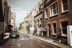 伦敦,英国- 2017年8月18日:住宅处所  库存照片