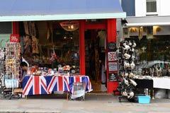 伦敦,英国- 2017年7月15日- portobello路伦敦街道五颜六色的市场 库存照片