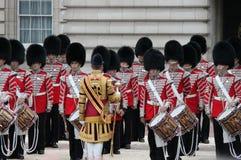 伦敦,英国7月06日,皇家卫兵的战士, 7月06日 2015年在伦敦 免版税库存图片