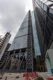伦敦,英国- 2016年6月18日:企业大厦惊人的看法在伦敦市 库存照片