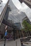 伦敦,英国- 2016年6月18日:企业大厦惊人的看法在伦敦市 图库摄影