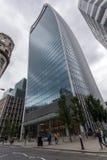 伦敦,英国- 2016年6月18日:企业大厦惊人的看法在伦敦市 库存图片