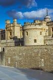伦敦,英国- 2016年6月15日:历史的伦敦塔,英国 免版税图库摄影
