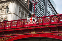 伦敦,英国- 2015年9月19日:哈博高架桥, 1863-1869 建筑物造价在£2百万 免版税图库摄影