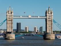 伦敦,英国- 6月14日:塔桥梁看法在6月1日的伦敦 库存照片