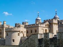 伦敦,英国- 6月14日:塔的看法在6月14日的伦敦, 图库摄影