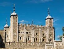 伦敦,英国- 6月14日:塔的看法在6月14日的伦敦, 免版税库存图片