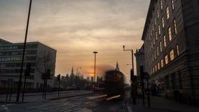 伦敦,英国- 2016年3月11日:威斯敏斯特和议会,定期流逝 影视素材