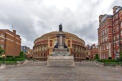 伦敦,英国- 2016年6月18日:惊人的观点的皇家阿尔伯特霍尔,伦敦 库存图片