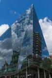 伦敦,英国- 2016年6月15日:现代企业大厦在伦敦市,英国 免版税库存图片