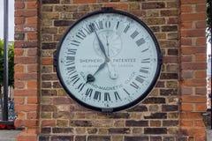 伦敦,英国- 2016年6月17日:皇家观测所在格林威治,伦敦,大英国 图库摄影
