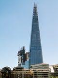 伦敦,英国- 6月14日:碎片大厦在6月14日的伦敦, 库存图片