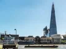 伦敦,英国- 6月14日:碎片大厦在6月14日的伦敦, 免版税库存图片