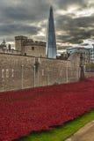 伦敦,英国- 2014年10月18日:艺术设施'血液清扫了Lan 库存图片