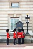 伦敦,英国- 2014年6月12日:英国皇家卫兵 免版税库存照片