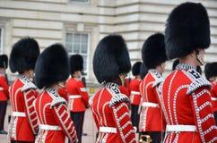 伦敦,英国- 2014年6月12日:英国皇家卫兵 库存照片