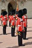 伦敦,英国- 2014年6月12日:英国皇家卫兵 图库摄影