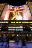 伦敦剧院,统治剧院 库存照片