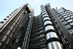 伦敦摩天大楼,伦敦劳埃德的  库存图片