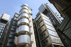 伦敦摩天大楼,伦敦劳埃德的  免版税库存照片