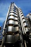 伦敦摩天大楼,伦敦劳埃德的  库存照片