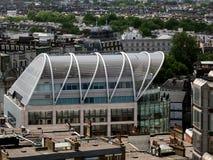 伦敦,英国- 6月14日:从威斯敏斯特大教堂的一个看法在Londo 免版税图库摄影