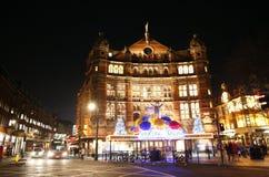 伦敦剧院,宫殿剧院 库存图片