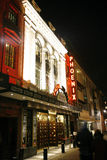 伦敦剧院,菲尼斯剧院 免版税库存图片