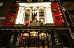 伦敦剧院,菲尼斯剧院 免版税图库摄影