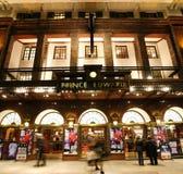 伦敦剧院,爱德华Theatre王子 免版税图库摄影