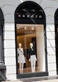 伦敦,英国- 2017年6月02日:Stefanel时尚代销店在伦敦 免版税图库摄影
