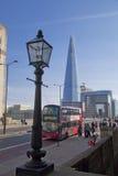 伦敦,英国- 2014年3月29日玻璃碎片  图库摄影