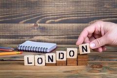 伦敦,许多数百万人居住的一个城市在英国 免版税库存照片
