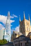 伦敦,玻璃碎片  免版税库存照片