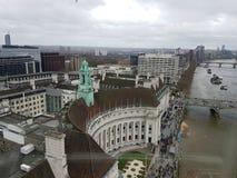 伦敦从上面 库存图片