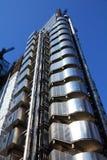 伦敦-劳埃德的大厦 免版税库存照片