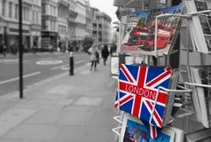 伦敦贺卡 免版税库存照片