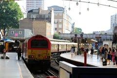 伦敦维多利亚驻地Belmond英国普式火车 免版税库存照片