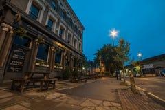 伦敦黎明 免版税图库摄影