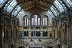 伦敦- 6月10 :一个楼梯的人们在全国历史 免版税库存照片