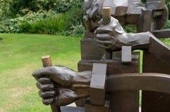 伦敦- 9月7 :一个Maximus广告极小值雕象在Kew庭院里 库存图片